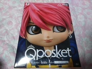 人気!hideのQposketのノーマルカラーフィギュア送料無料