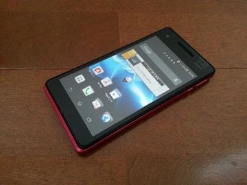 即落/即発!!美中古品 SO-01E Xperia AX ピンク LTE Xi