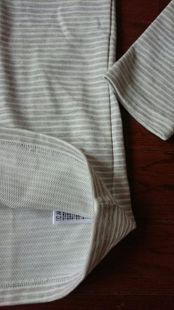 新品未使用タグ付きコロンビアLレディースColumbia長袖ロンTボーダー柄グレー < 女性ファッションの
