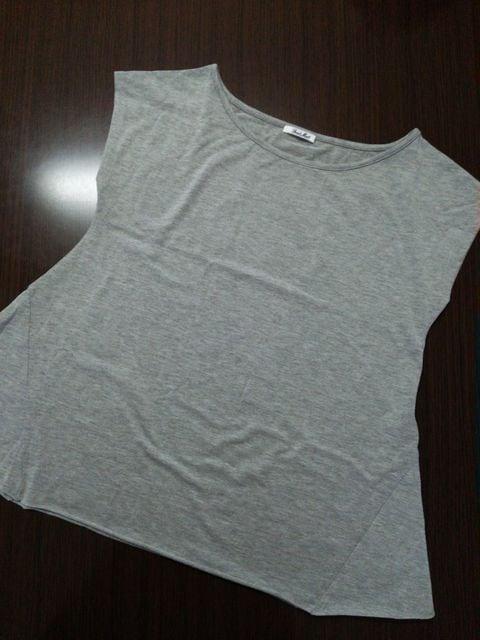 フリーズマート FREE'S MART Tシャツ グレー Aライン  < ブランドの