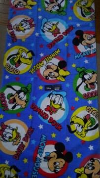 ディズニー!キャラクター!いっばい!鮮やか!新品!バスタオル!