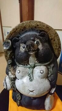 少し古い 大きい→信楽焼→黒〜タ〜ヌ〜キ〜狸→飾り置物