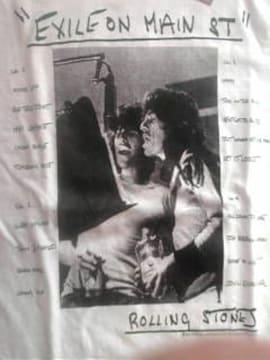 ローリングストーンズ メインストリートのならず者記念Tシャツ オフィシャル正規