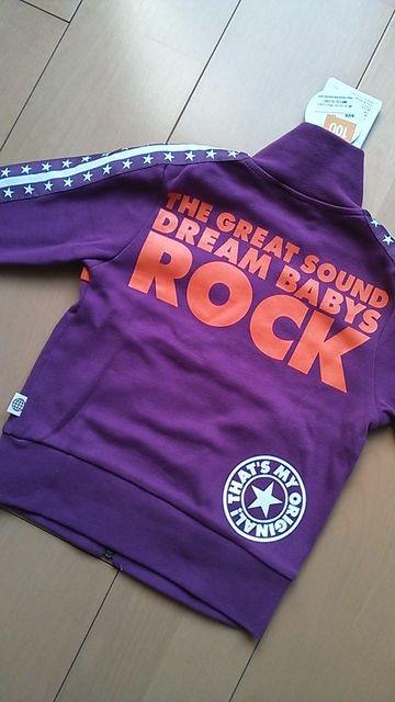 新品袖★ロックジャケット100紫ドリベビBABYDOLLベビードール  < ブランドの