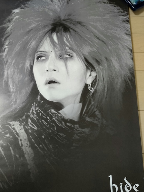 特大ポスター hide X JAPAN DAHLIA TOUR 1995 60cm×86cm  < タレントグッズの