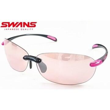 スワンズ(SWANS)サングラス ミラーレンズ SABE-0709 BK/P