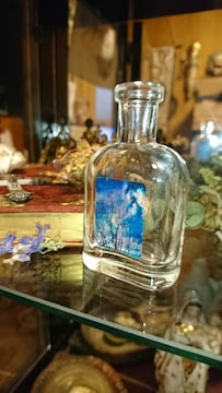 青空 小瓶 風景 写真 置物 瓶 インテリア ビン 小物 アート 雑貨