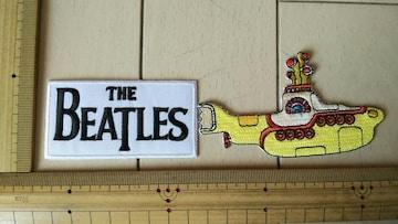 NO.152 アイロンワッペン ビートルズ BEATLES ロック ROCK