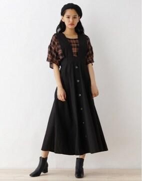 新品☆OZOC(オゾック)ハイウエスト3WAYジャンパースカート☆