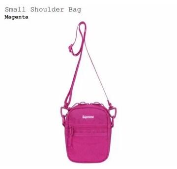 Supreme Small Shoulder Bag Magenta 17ss シュプリーム バッグ