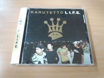 カルテットCD「L.I.F.E.」KARUTETTOヒップホップ名古屋●