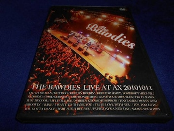 【DVD】 THE BAWDIES LIVE AT AX 20101011