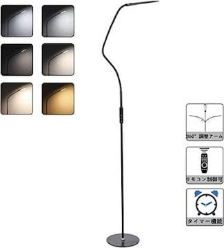 色黒 CO-Z フロアライト フロアスタンドランプ LEDフロアランプ
