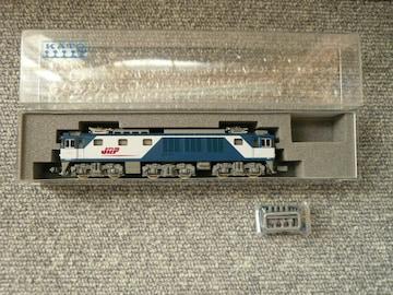 KATO Nゲージ「3024-1 EF64 1000JR貨物新更新色」
