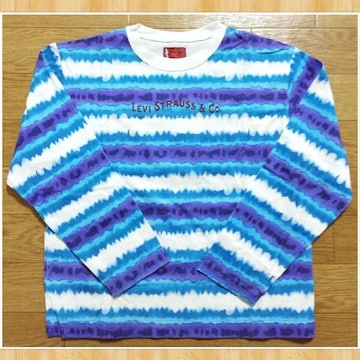 Levi's リーバイス 子供服130cm 美品 タイダイ Tシャツ 長袖