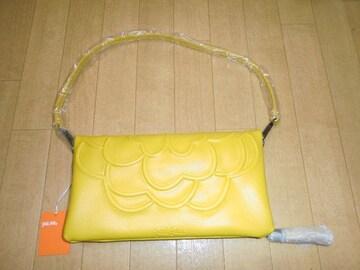 値下げ新品正規FolliFollieフォリフォリ牛革ロゴ型押しバッグ