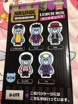 【D-LITE】KRUNK x BIG BANG ランチボックス