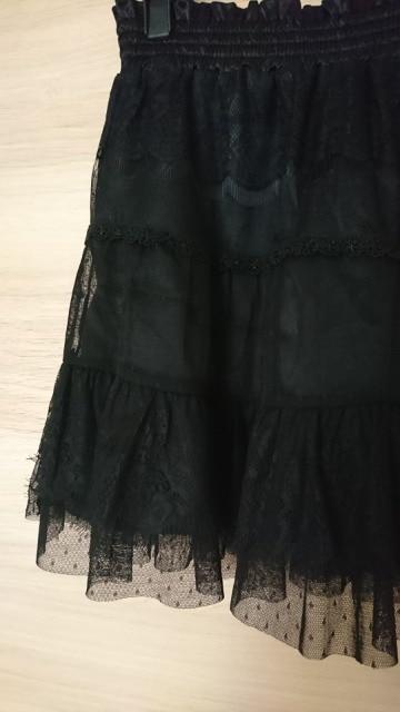 JAYRO レースフリルスカート 新品 < ブランドの