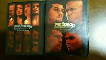 PRIDE GP2005 DVD二枚/ミドル級トーナメント&ヘビー級タイトルマッチ 特集映像付