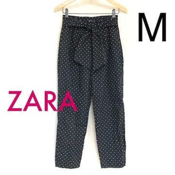 #ZARA BASICドットパンツ