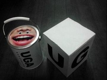 未使用カラオケUGA「ナゾのUGA缶」