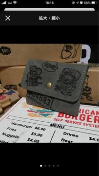 コインケース ラットフィンク アメリカン雑貨 アメキャラ カード