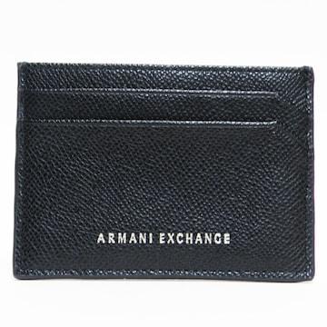 美品アルマーニ エクスチェンジ カードケース 良品 正規品