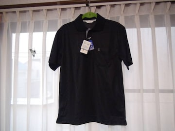 WEATHERCOCKのポロシャツ(M)ブラック新品タグ付き!。