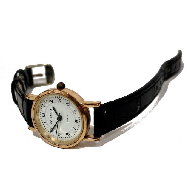 良品【980円〜】CC.DIANA 日本製ムーブメント 腕時計 < 女性アクセサリー/時計の