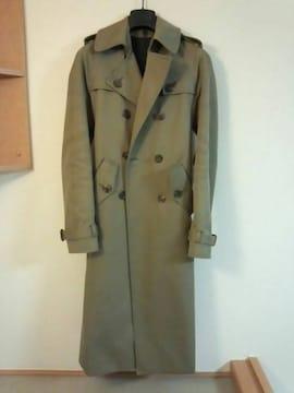 国内正規極美 希少 Dior Homme ディオールオム ロングコート 38 最小 兼用