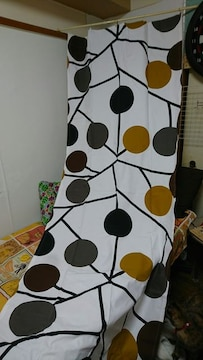 IKEA購入 柄物 生地+カーテン