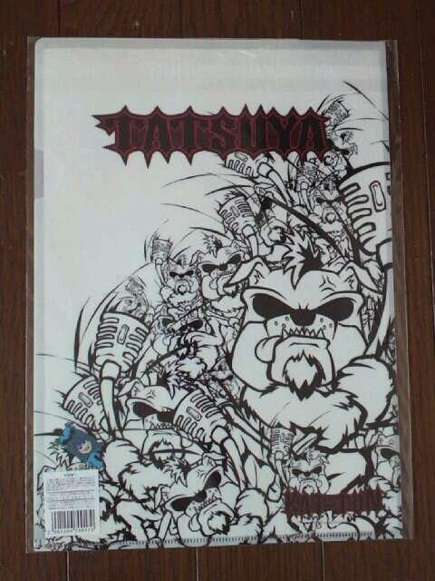 新品☆TOUR 2007 cartoon KAT-TUN☆クリアファイル*上田竜也 < タレントグッズの