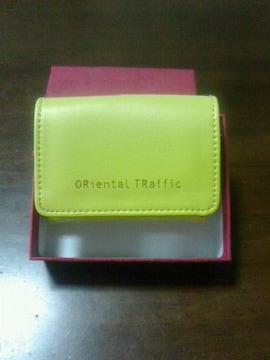 ORientaL TRafficカードケース未使用カワイイ非売品