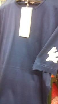 がまかつ鮎Tシャツ カラー紺 サイズフリーGM-8001旧製品送料込み