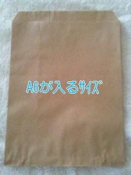 R70サイズ未晒無地平袋20枚★小物の発送にも役立つ紙袋