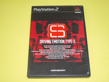 PS2★即決★DRIVING EMOTION TYPE-S★箱説付★レース