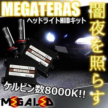 Mオク】オデッセイRA6/7系/ヘッドライトHIDキット/H1/8000K