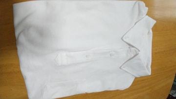 UNIQLO◆白のポロシャツ◆Lサイズ