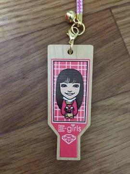 羽子板ストラップ E-girls Happiness 須田アンナ