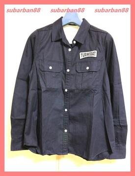 ☆オリーブデオリーブ☆美品♪ワッペンロゴコットンツイルシャツ