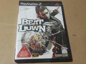 PS2☆ビートダウン☆CAPCOM。アクションゲーム。