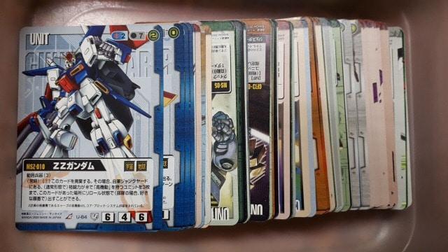 ガンダムウォーカード110枚詰め合わせ福袋  < トレーディングカードの