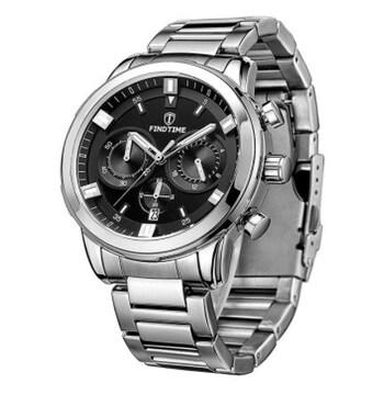 腕時計カジュアル レーシングシルバーbl