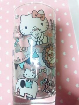 キティ40thアニバーサリーくじ☆タンブラーグラス2個セット☆