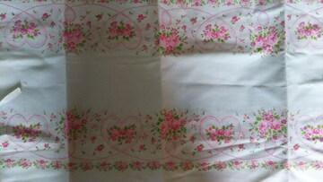 昭和レトロ柄枕カバー花柄