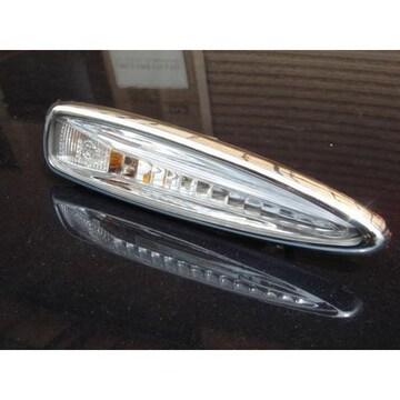 クロームメッキサイドマーカーリング ウインカーリム レクサス LS460LS600LS600h IS-F