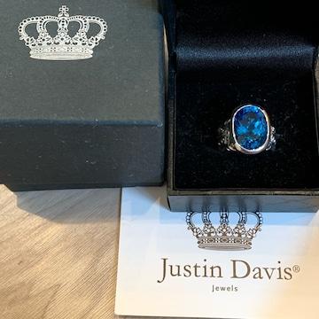 新品◆JUSTIN DAVIS◆LET IT BE RING◆15号◆トパーズリング◆