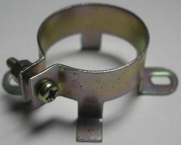 ブロックコンデンサー止め金具/25mm未使用品10個1口/8.01