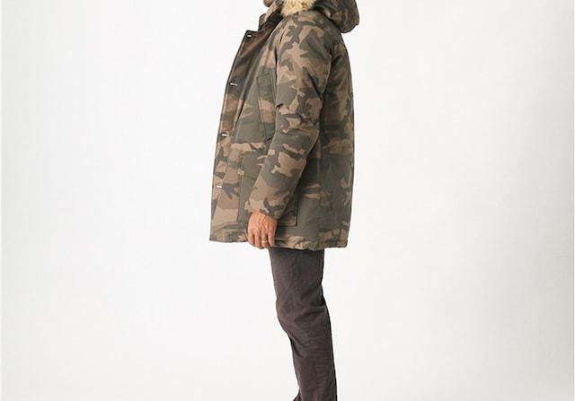 ☆WOOLRICH ウールリッチ カモフラージュ柄 N3B ダウン/メンズ/XS☆新作モデル < ブランドの