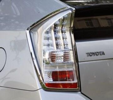 トヨタ メッキテールライトリング プリウス ZVW30 テールランプ